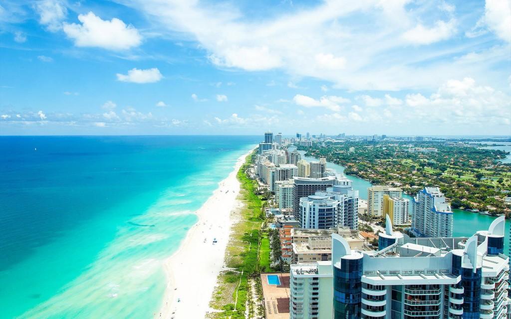 Miami Beach, running en EE.UU