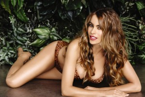 Sofia Vergara sizzles in leopard bikini for Kmart