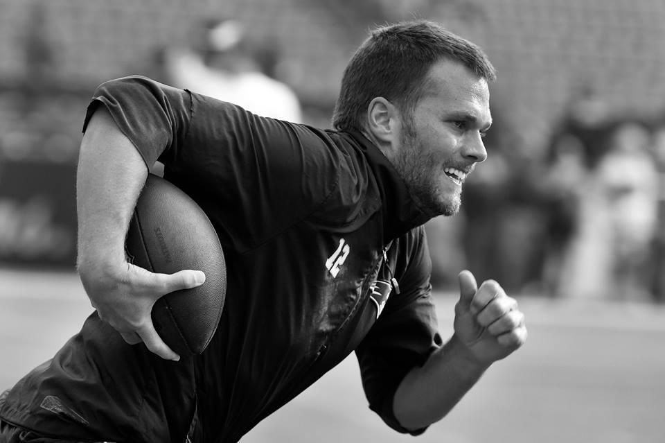 Tom Brady, el más fuerte de los Patriots
