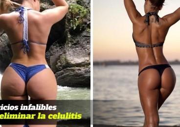 8 ejercicios infalibles para eliminar celulitis