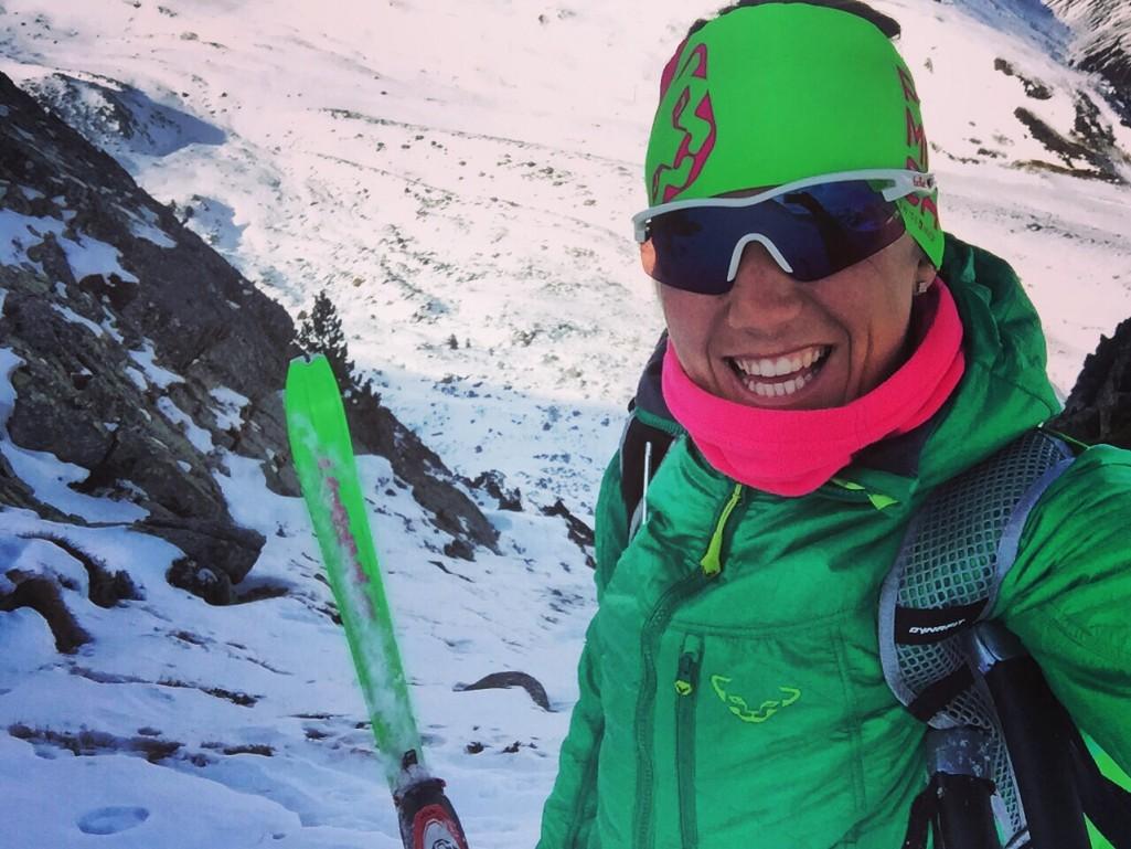 Material para esquiar: Clàudia Galicia