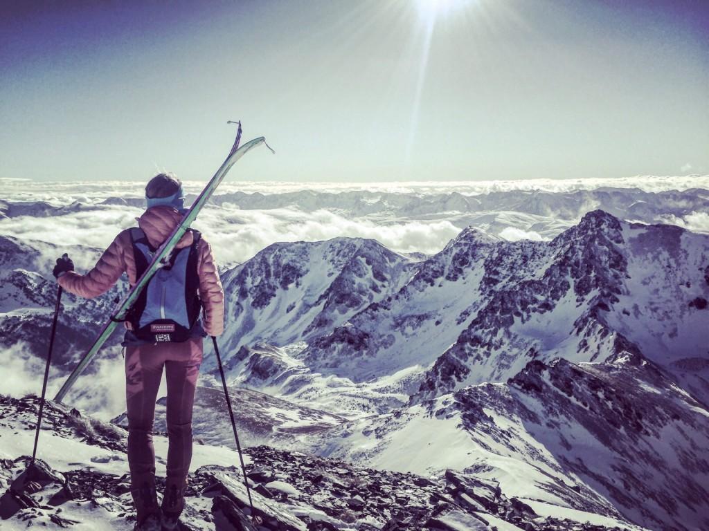 Material esquí de montaña
