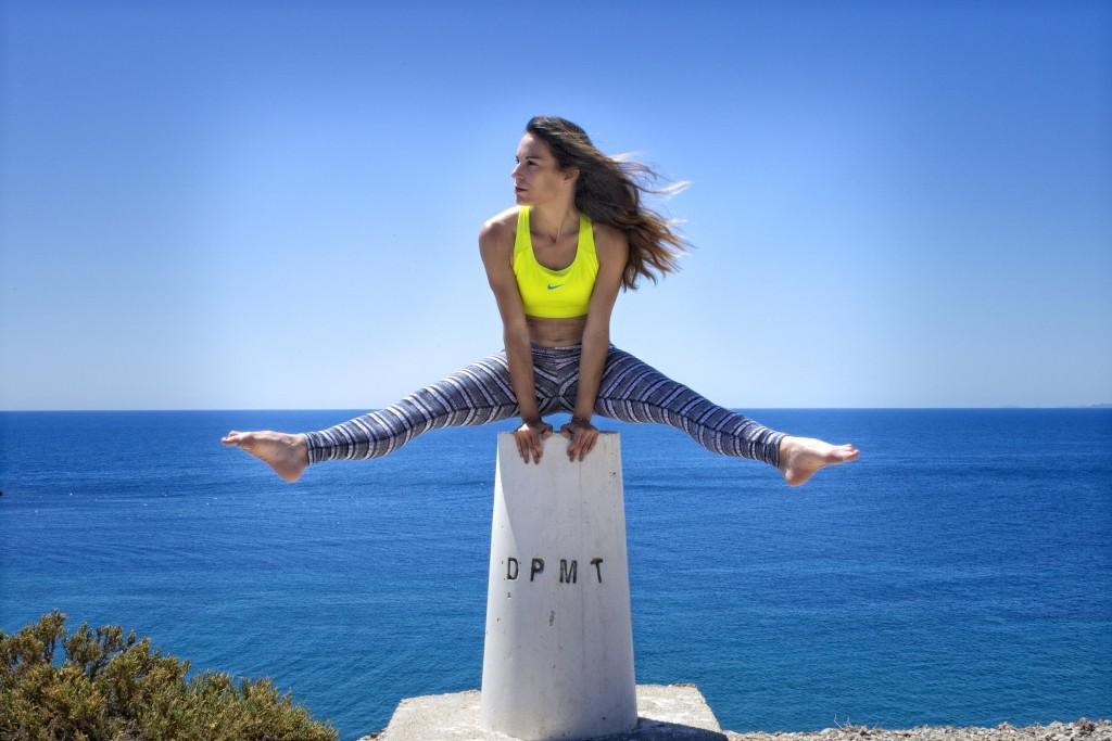 Paula Butragueño, amante del Fitness