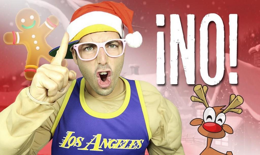 Sergio Peinado, no engordar en Navidad