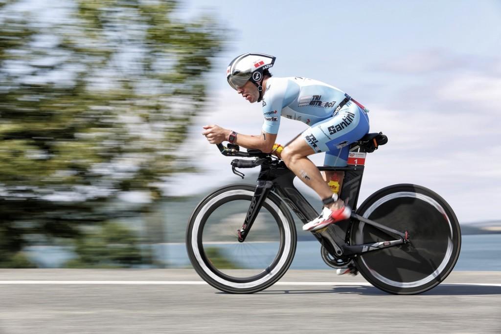 Triatlón, mejorar en el ciclismo