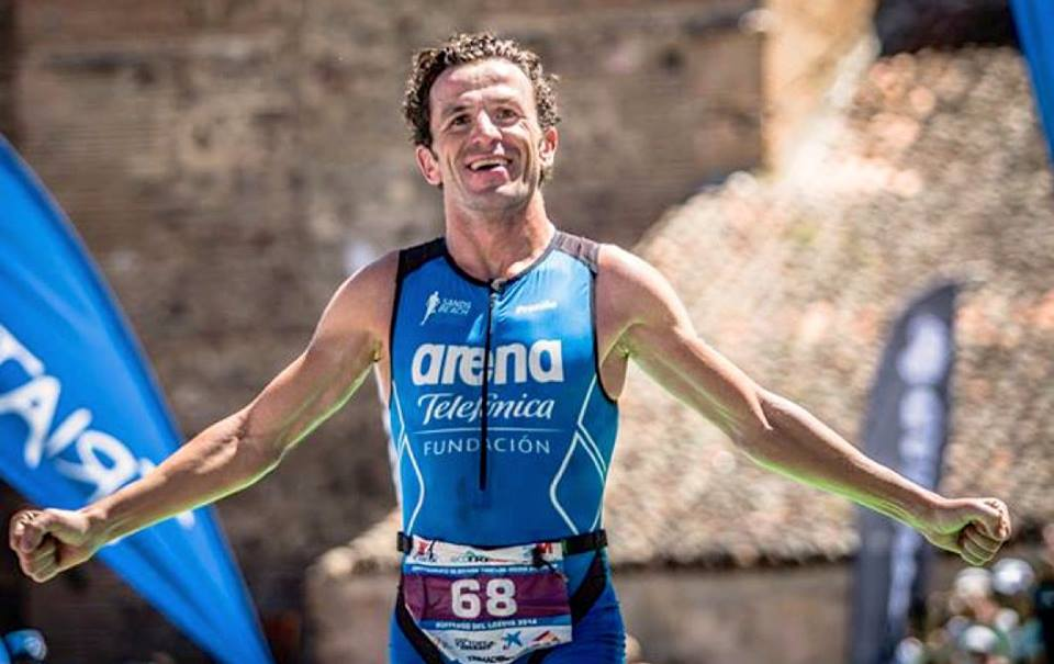 Alejandro Santamaría, triatleta y entrenador