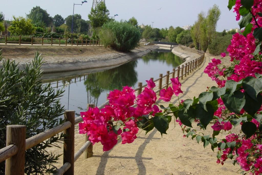 canal-parque-miraflores-sevilla