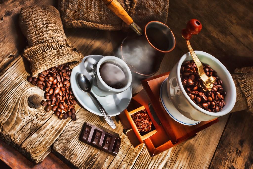 deporte y café