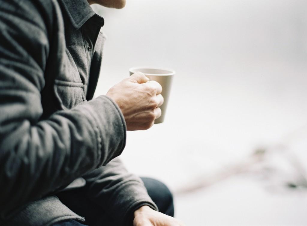 deporte y café. beneficioso