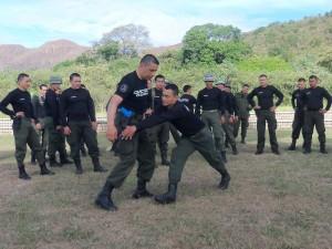 Pruebas físicas Policía Nacional