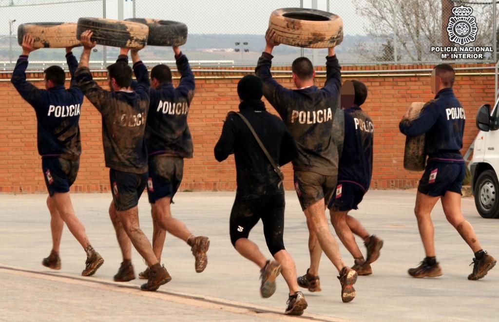 Entrenamiento Policía Nacional