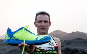 Víctor del Corral, material triatlón
