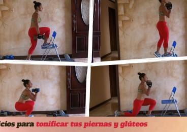 5 ejercicios para tonificar tus piernas y gluteos
