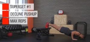 push up descenso