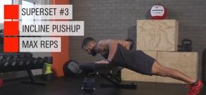 push up inclinado