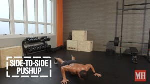 side to side pushup 1