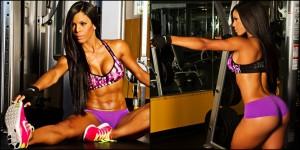 Entrenamiento Yarishna Ayala mejores fotos y videos