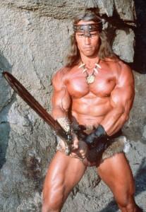 Arnold Schwarzenegger conan el barbaro