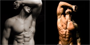 Esteroides vs cuerpo natural