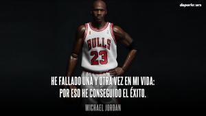 FRASE DE MOTICACION MICHAEL JORDAN