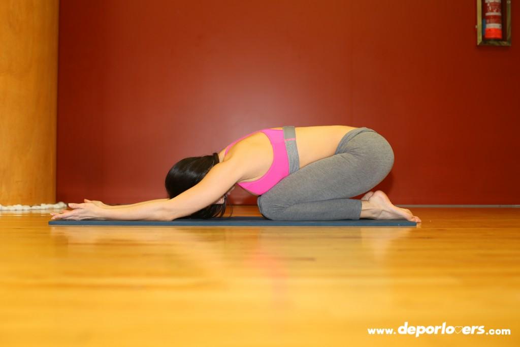 Postura yoga: Postura del niño