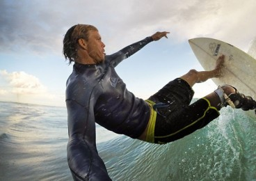 mike coots surfista sin pierna