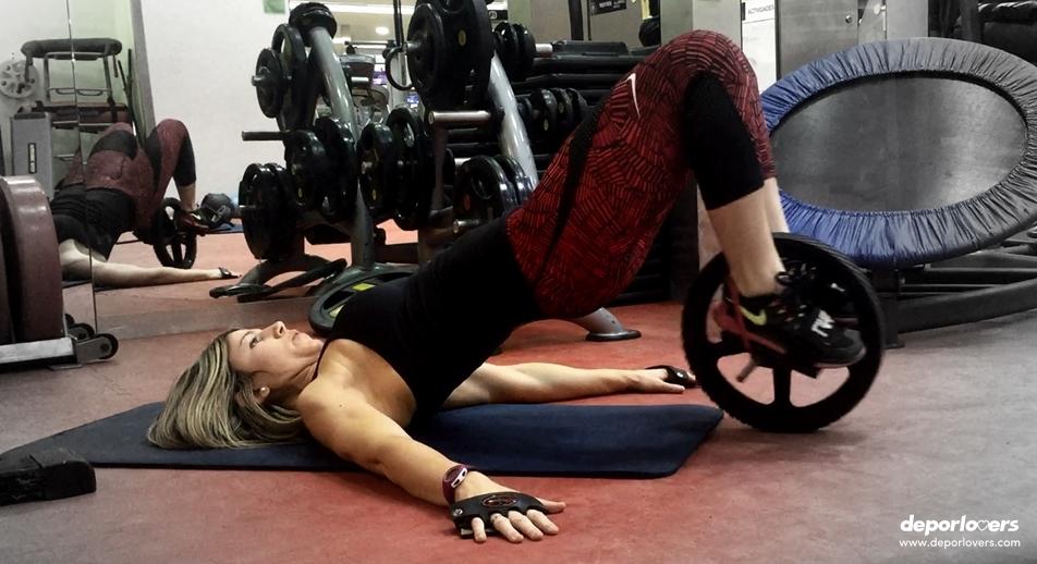Entrenamiento abdominales con rueda tonifica todo tu cuerpo