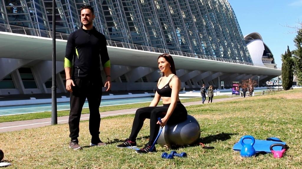 Entrenamiento con fitball ejercicios para hacer en casa 1