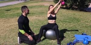 Entrenamiento fitball ejercicio 1 b
