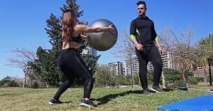 Entrenamiento fitball ejercicio 5a