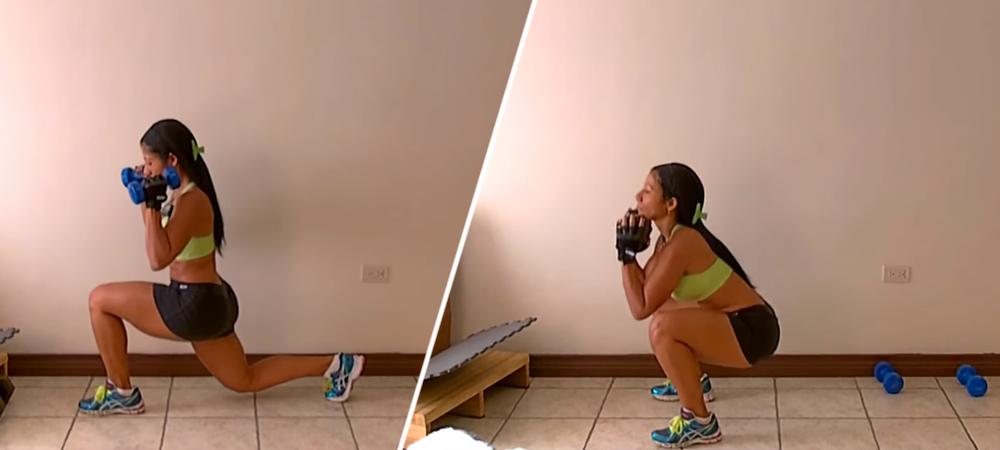 Rutina de ejercicios para aumentar y tonificar piernas y glúteos con Dey Palencia
