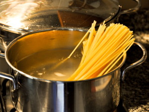 cocer pasta en 1 minuto