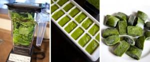 congelar vegetales