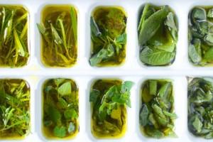 cubitos de hierbas