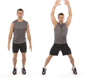 jumping jacks crossfit