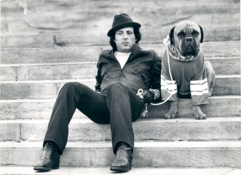 rocky y su perro