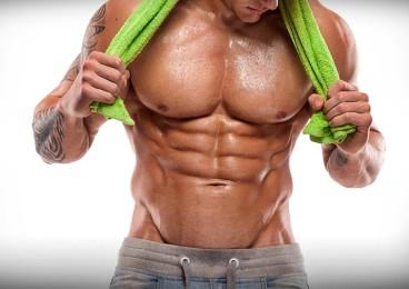 Marcar abdominales oblicuos la V abdominal