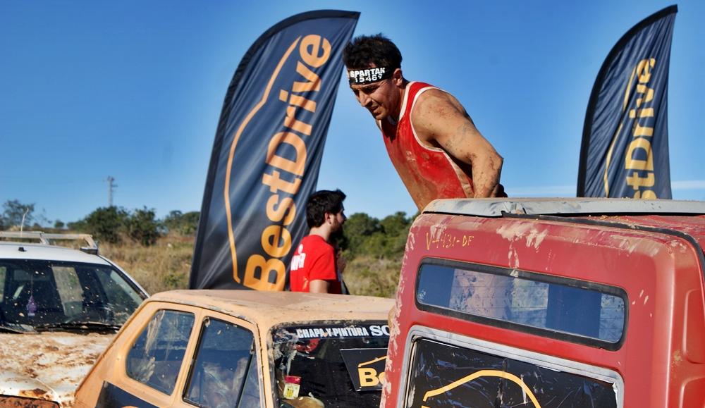 Superar obstáculos de la Spartan Race
