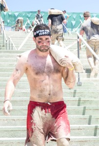 cargar sacos spartan race