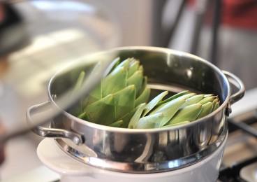 cocinar alimentos sanos