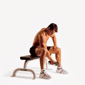 curl biceps concentrado mancuerna