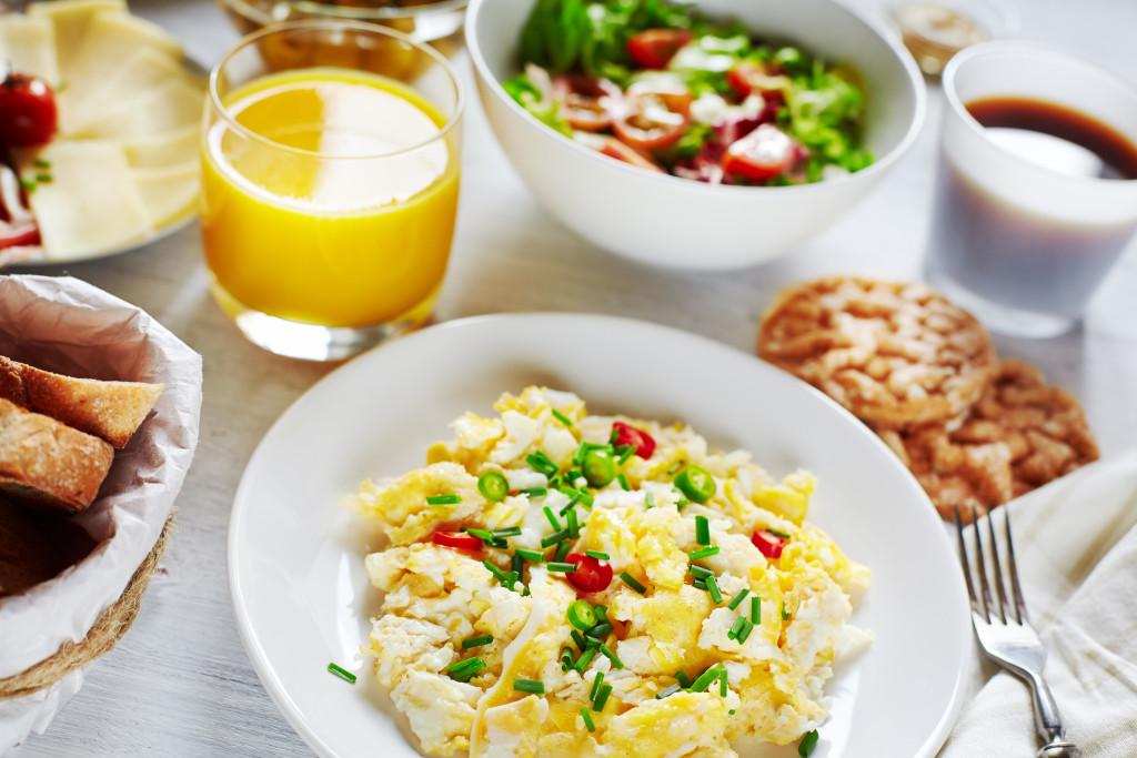 Desayunos para tomar antes de entrenar