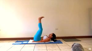 elevación de piernas abdomen
