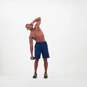 flexión lateral de tronco