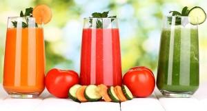 jugo de verduras