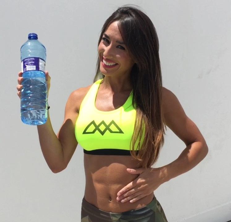 abdominales con agua