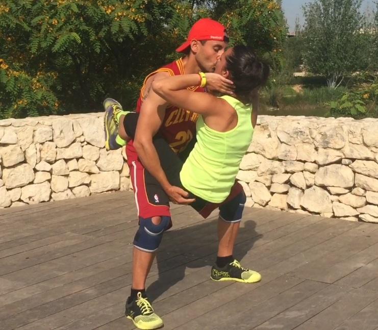 entrenamiento enamorados