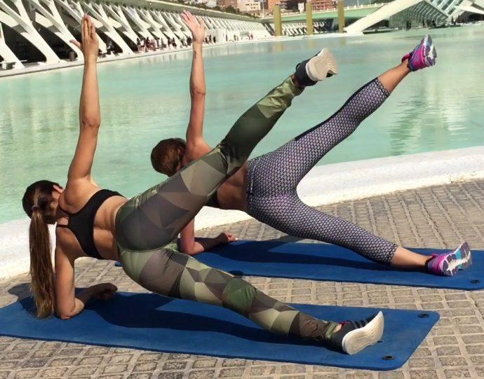 abdominales gluteos y lumbar ejercicios