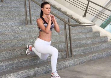 cardio en escaleras