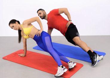 ejercicios planchas para maarcar vientre
